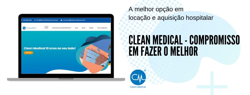 Clean Medical – Locação e venda de Equipamentos Hospitalares