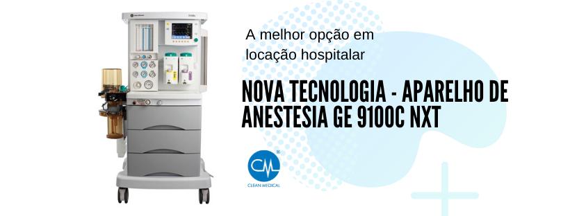 Nova Tecnologia – Aparelho de Anestesia GE 9100C NXT