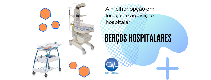 Berço Hospitalar Clean Medical