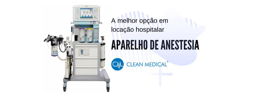 aparelho de anestesia